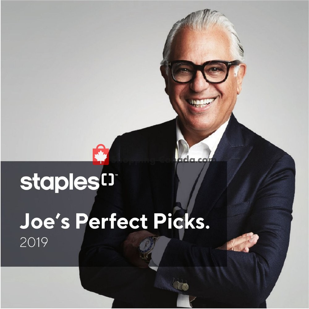 Flyer Staples Canada - from Wednesday March 13, 2019 to Tuesday March 26, 2019