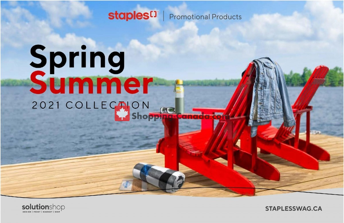 Flyer Staples Canada - from Monday May 17, 2021 to Thursday September 30, 2021