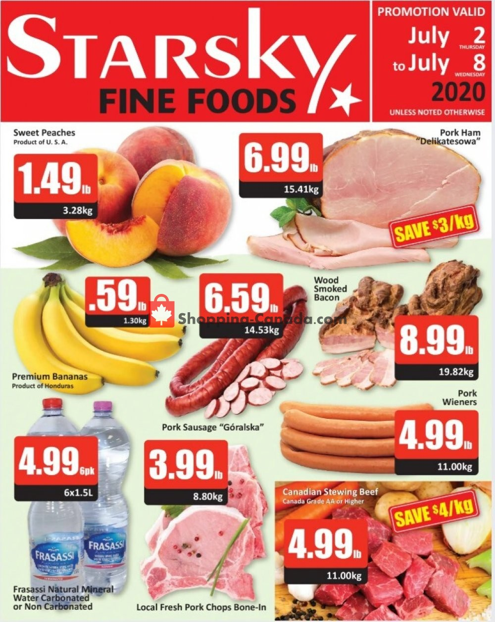Flyer Starsky Foods Canada - from Thursday July 2, 2020 to Wednesday July 8, 2020