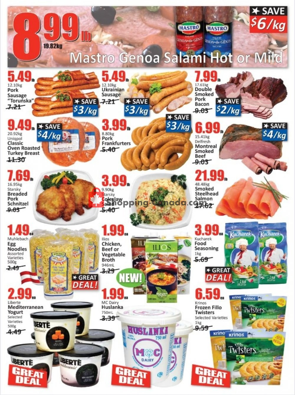 Flyer Starsky Foods Canada - from Thursday January 9, 2020 to Wednesday January 22, 2020