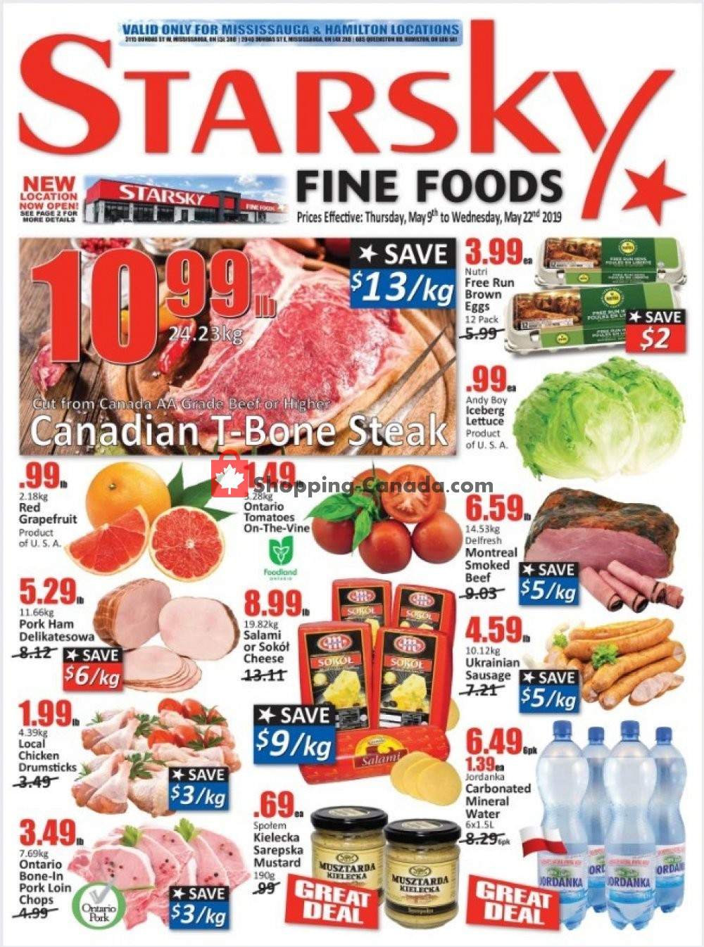 Flyer Starsky Foods Canada - from Thursday May 9, 2019 to Wednesday May 22, 2019