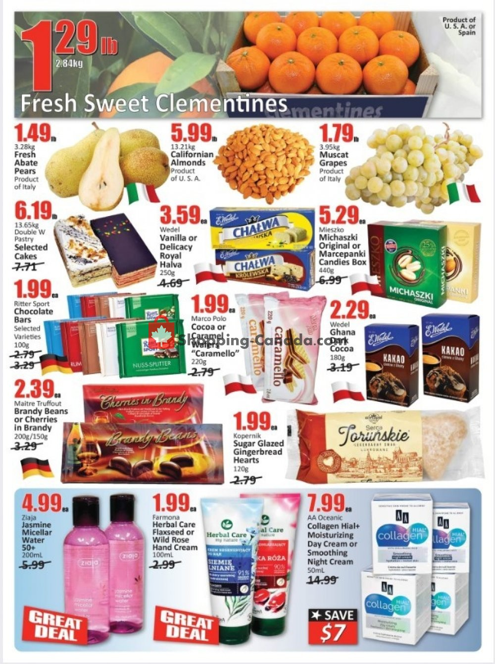 Flyer Starsky Foods Canada - from Thursday November 7, 2019 to Wednesday November 20, 2019