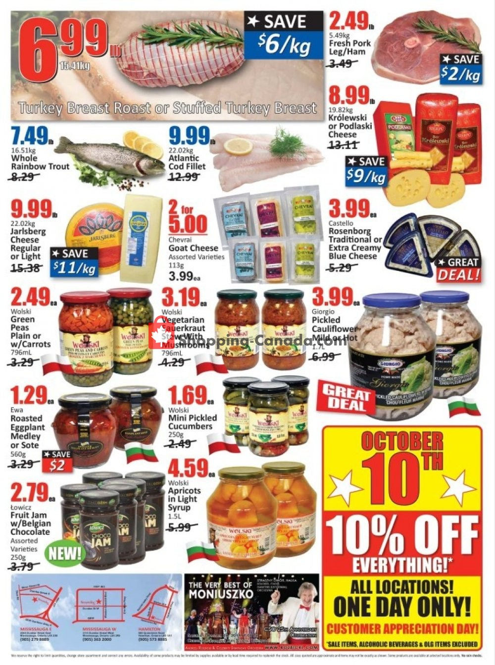 Flyer Starsky Foods Canada - from Thursday October 10, 2019 to Wednesday October 23, 2019