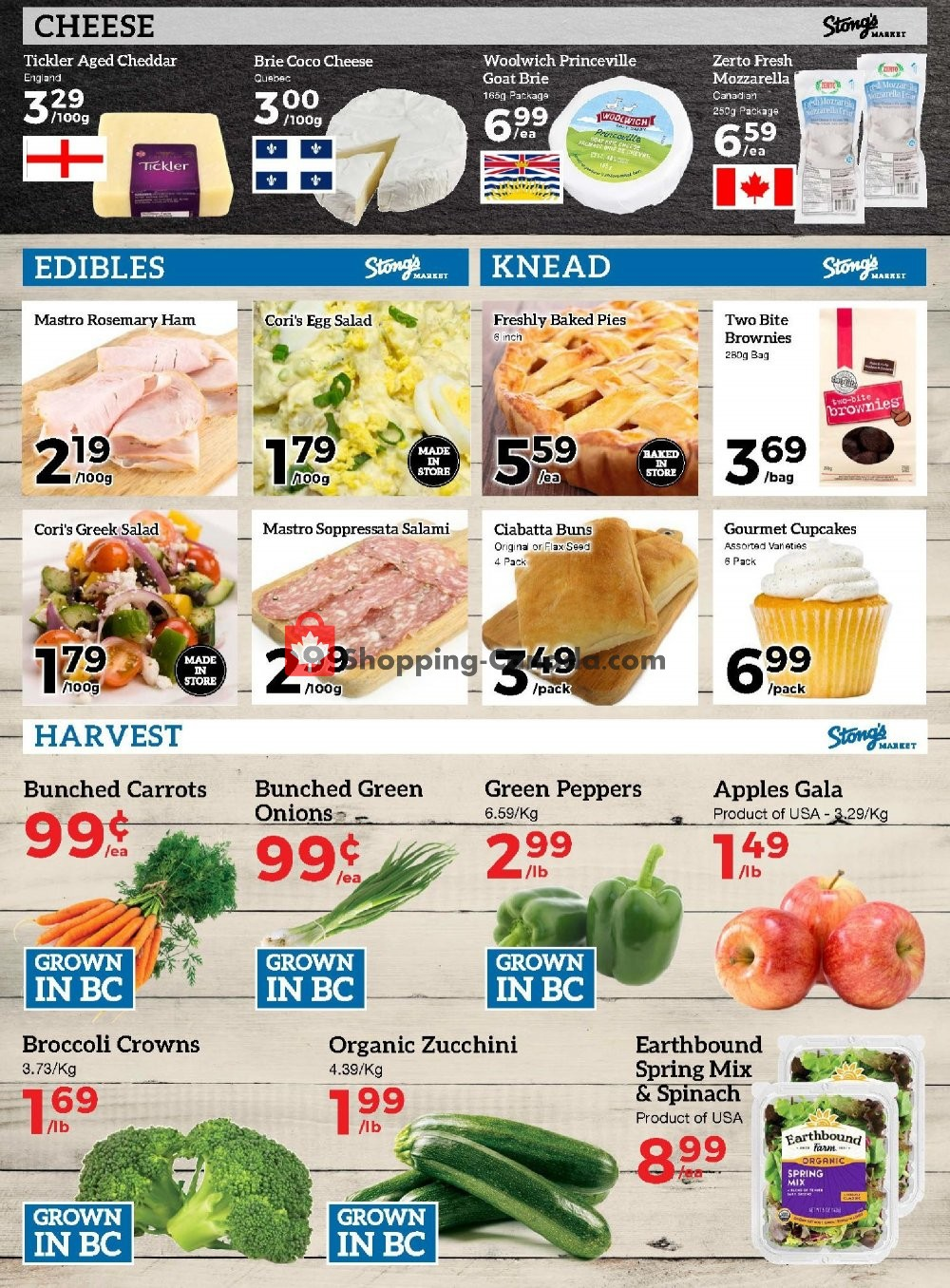 Flyer Stong's Market Canada - from Friday August 9, 2019 to Thursday August 15, 2019