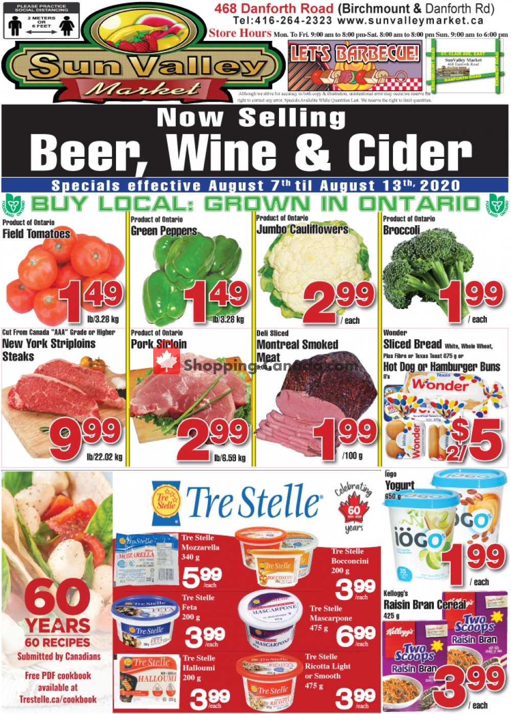Flyer Sun Valley Market Canada - from Friday August 7, 2020 to Thursday August 13, 2020