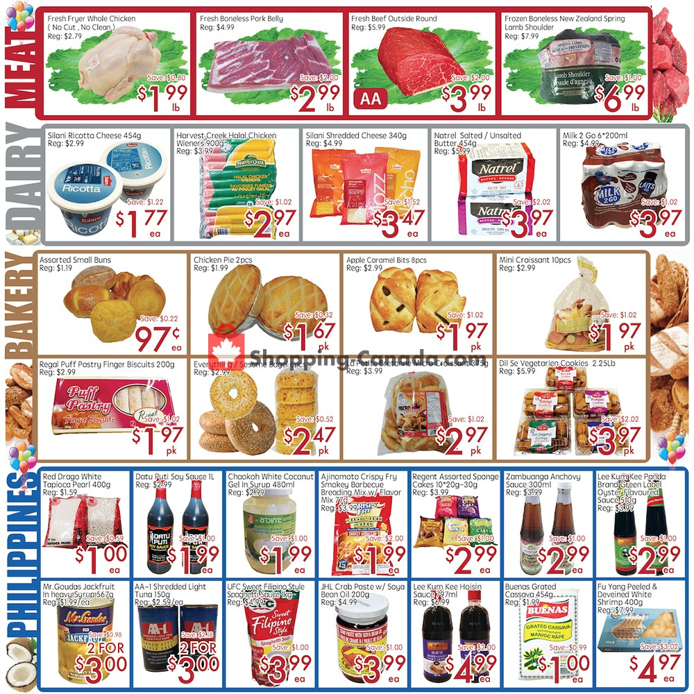 Flyer Sunny Foodmart Canada - from Friday November 8, 2019 to Thursday November 14, 2019