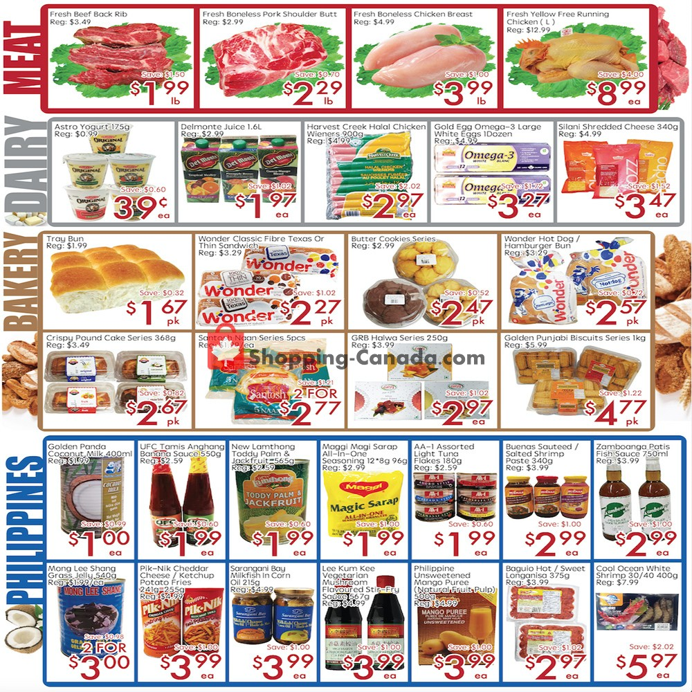 Flyer Sunny Foodmart Canada - from Friday October 4, 2019 to Thursday October 10, 2019
