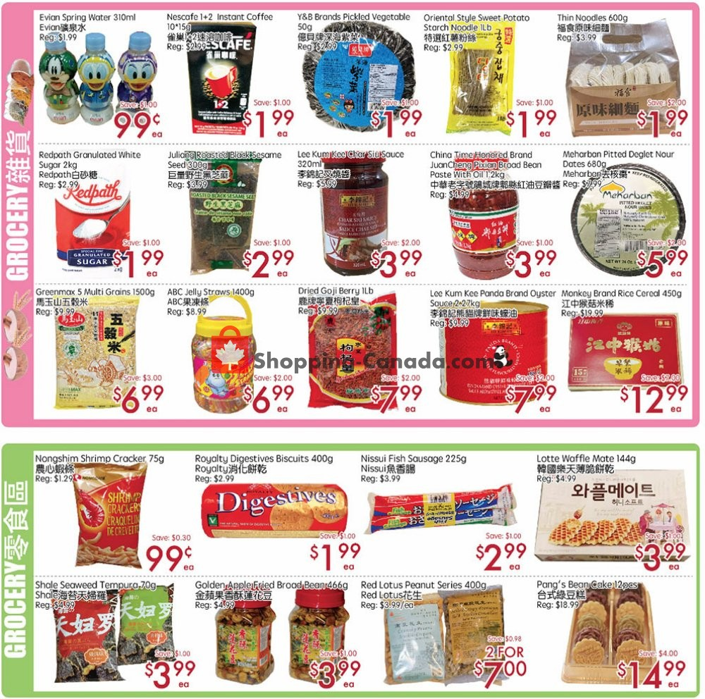 Flyer Sunny Foodmart Canada - from Friday September 6, 2019 to Thursday September 12, 2019