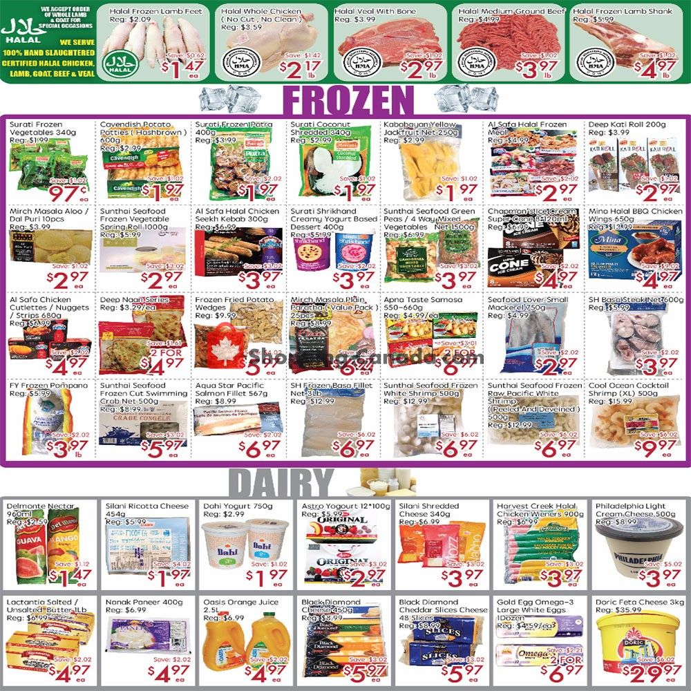 Flyer Sunny Foodmart Canada - from Friday October 4, 2019 to Thursday October 10, 2019