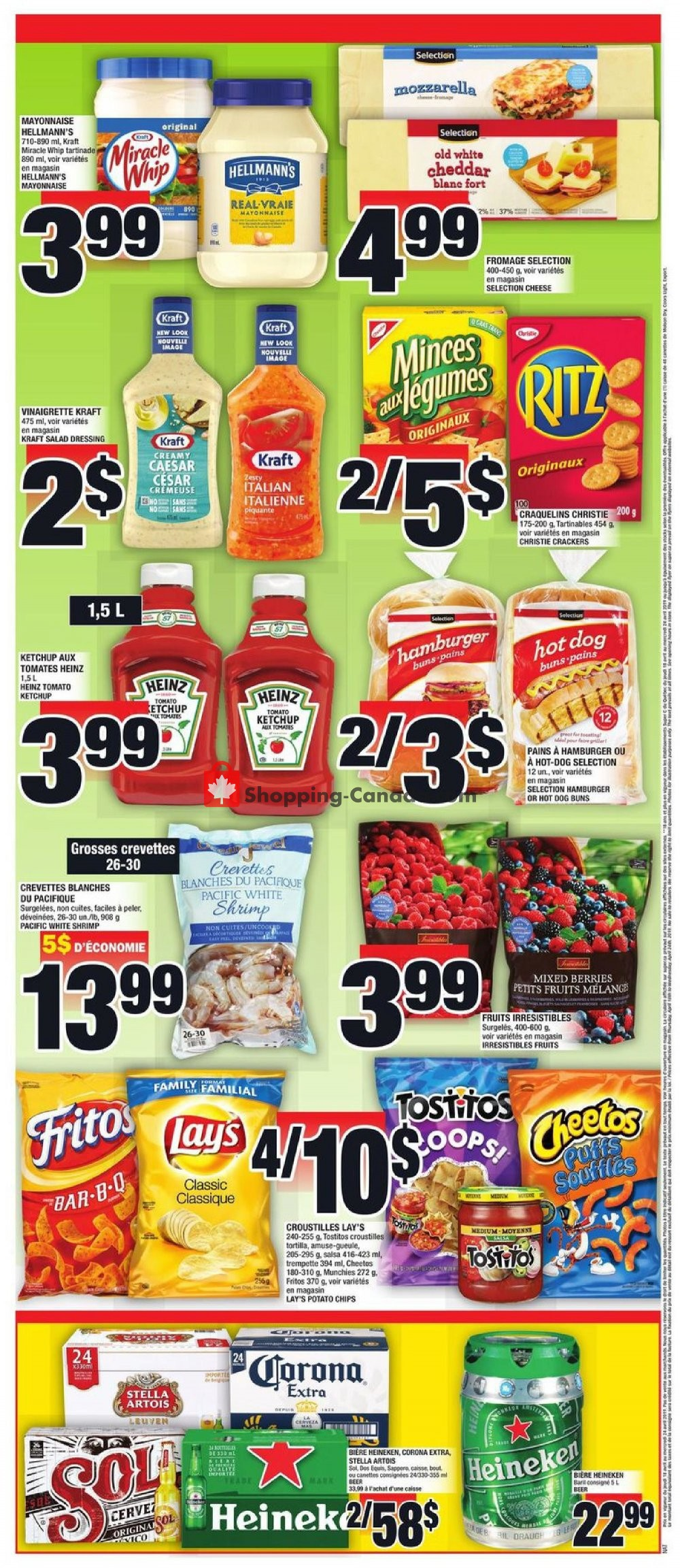 Flyer Super C Canada - from Thursday April 18, 2019 to Wednesday April 24, 2019