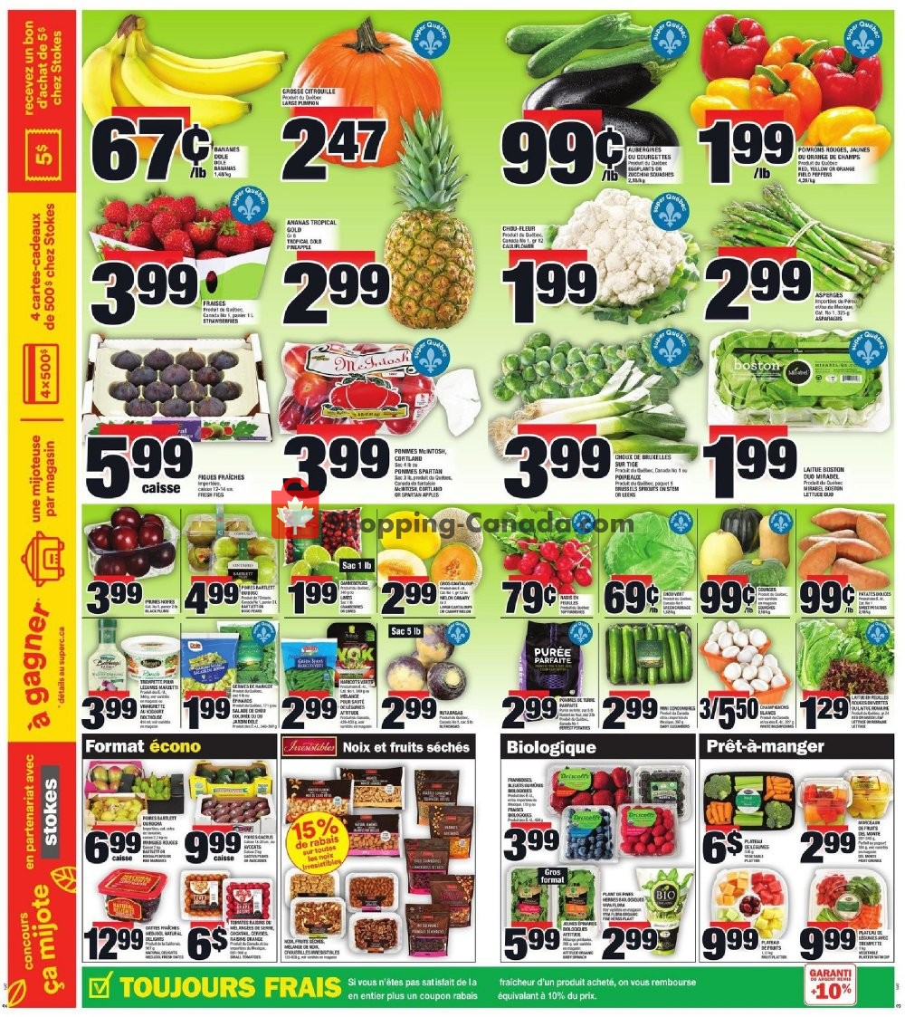 Flyer Super C Canada - from Thursday October 10, 2019 to Wednesday October 16, 2019
