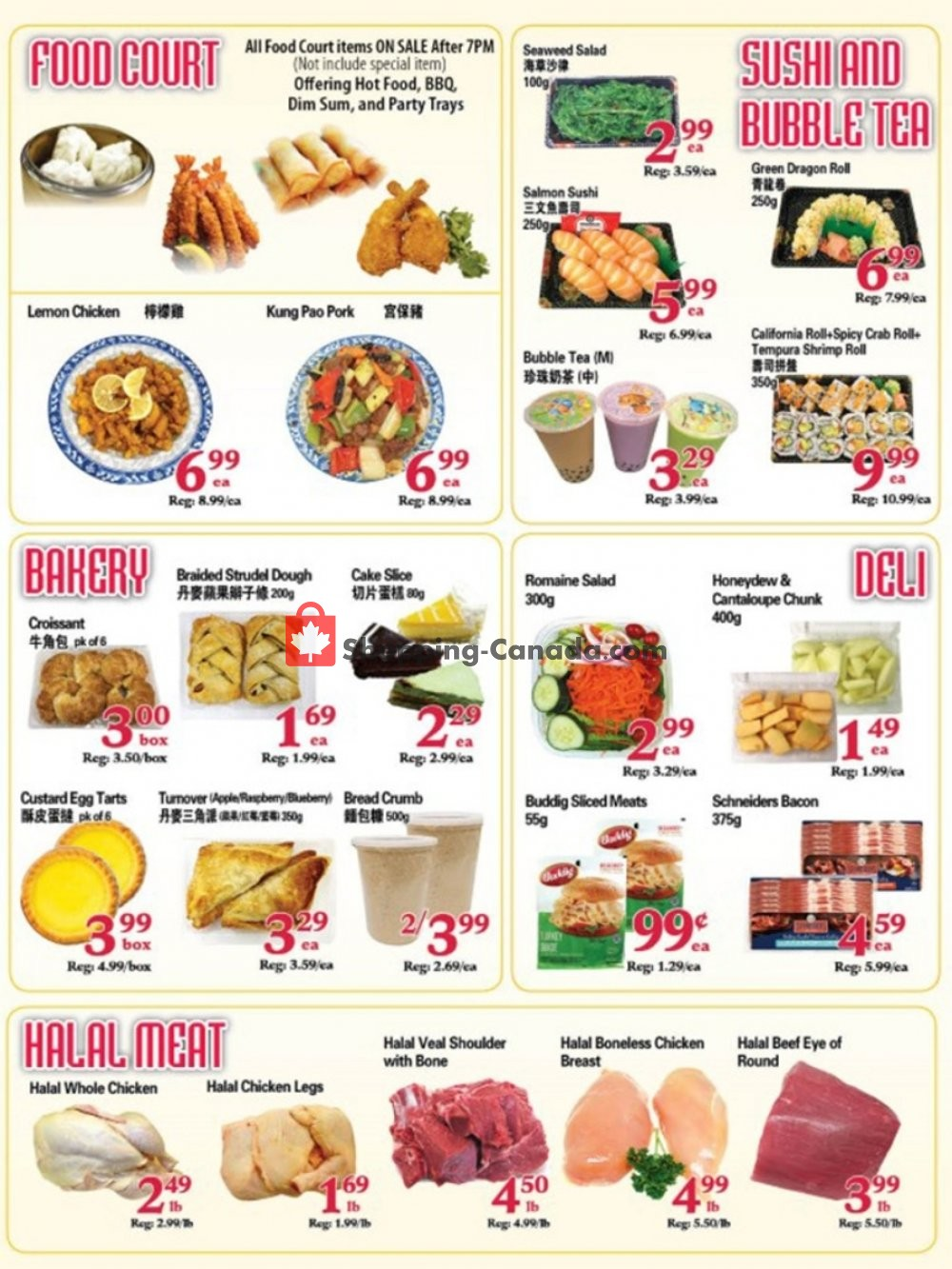 Flyer SuperKing Super Market Canada - from Friday August 9, 2019 to Thursday August 15, 2019