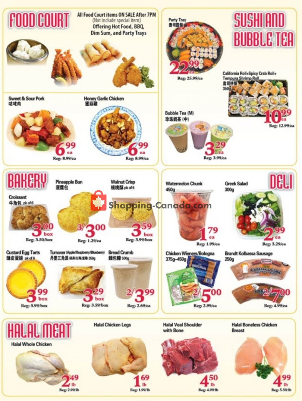 Flyer SuperKing Super Market Canada - from Friday September 6, 2019 to Thursday September 12, 2019