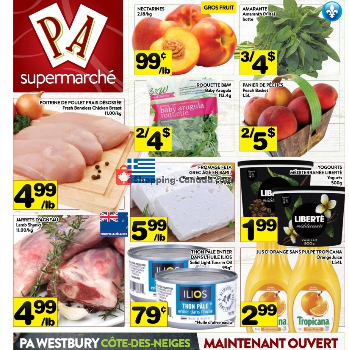 Flyer Supermarché PA Canada - from Monday July 12, 2021 to Sunday July 18, 2021