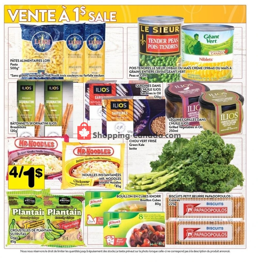 Flyer Supermarché PA Canada - from Monday January 13, 2020 to Sunday January 19, 2020