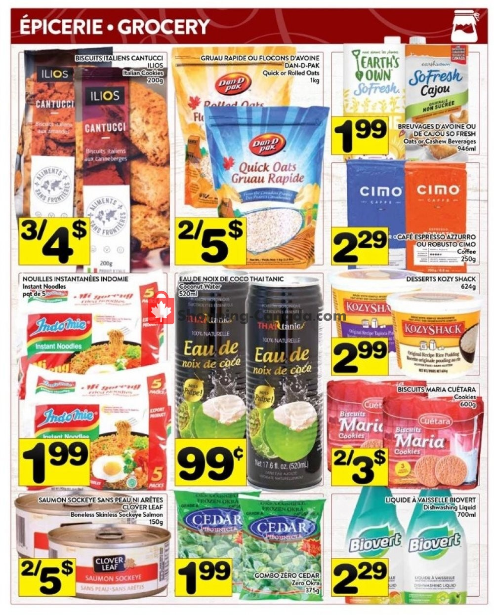 Flyer Supermarché PA Canada - from Monday July 22, 2019 to Sunday July 28, 2019