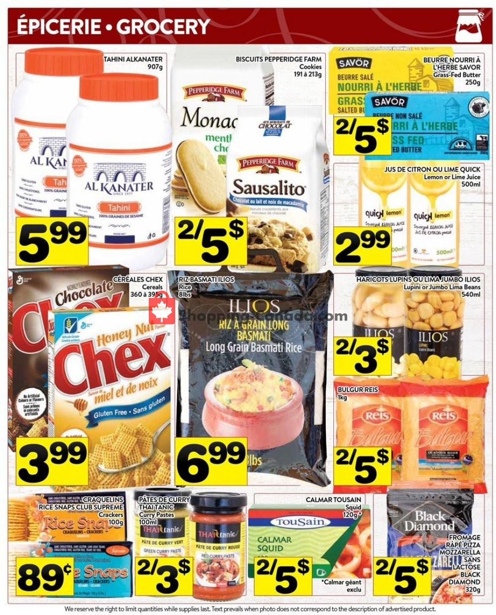 Flyer Supermarché PA Canada - from Monday July 8, 2019 to Sunday July 14, 2019