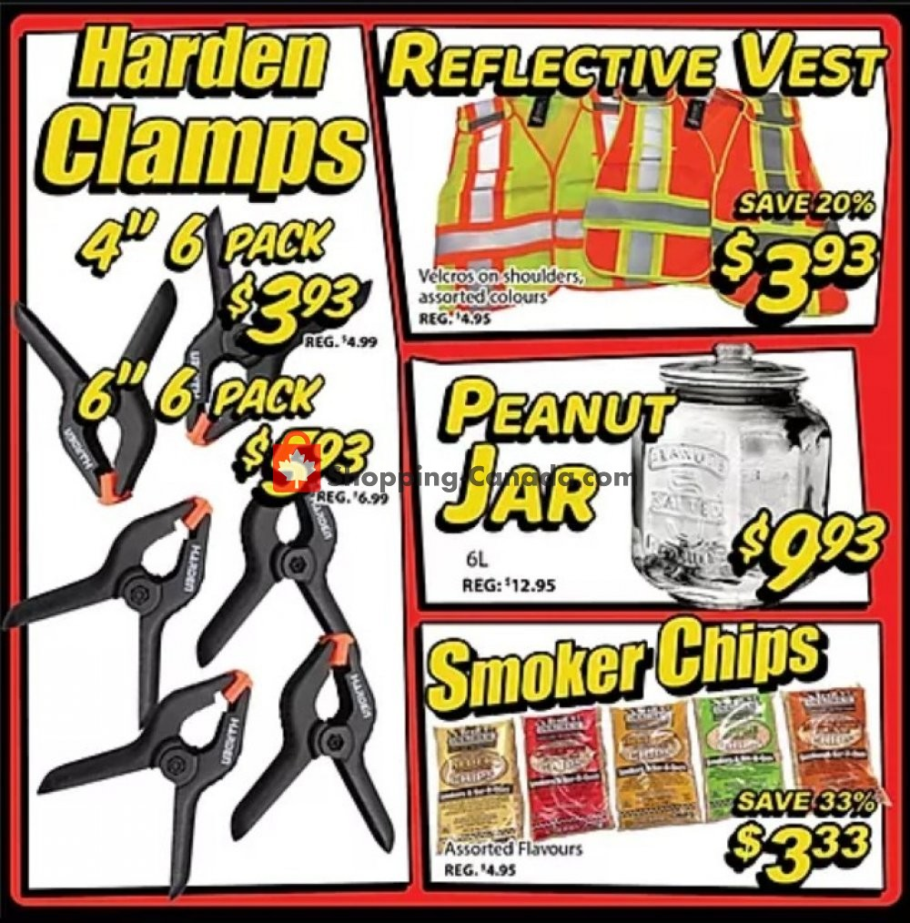 Flyer Surplus Herby's Canada - from Thursday January 9, 2020 to Sunday January 12, 2020