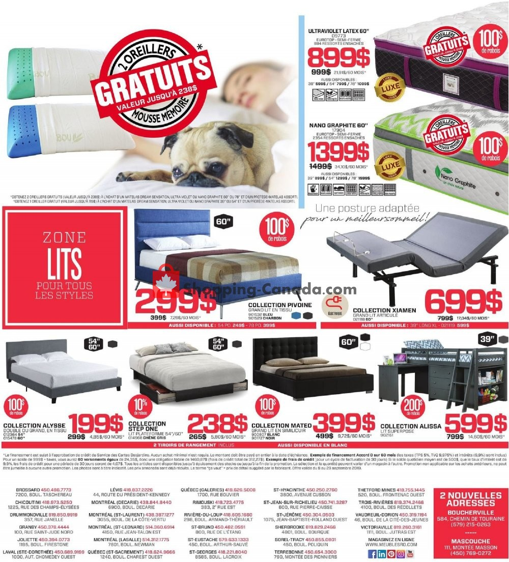 Flyer Surplus RD Canada - from Monday September 9, 2019 to Sunday September 29, 2019