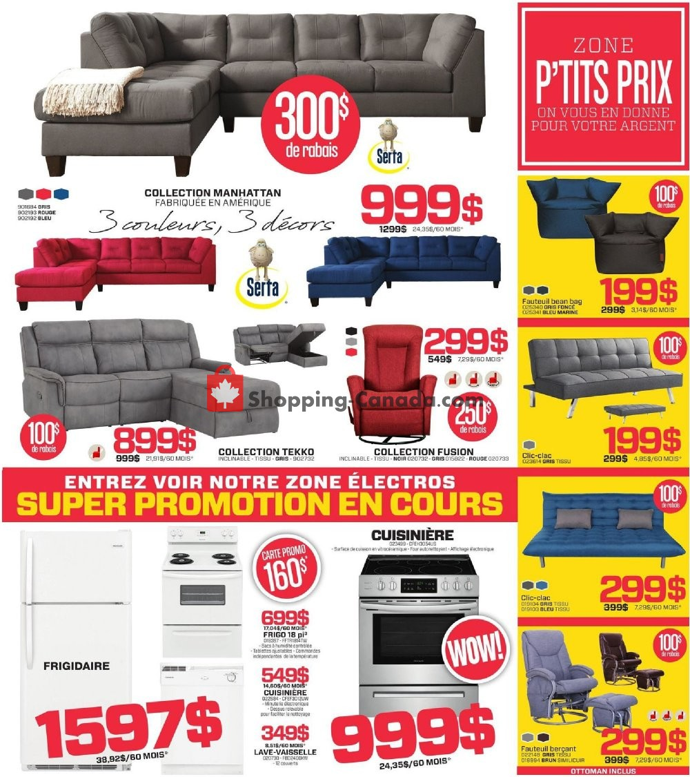 Flyer Surplus RD Canada - from Monday July 8, 2019 to Sunday July 21, 2019