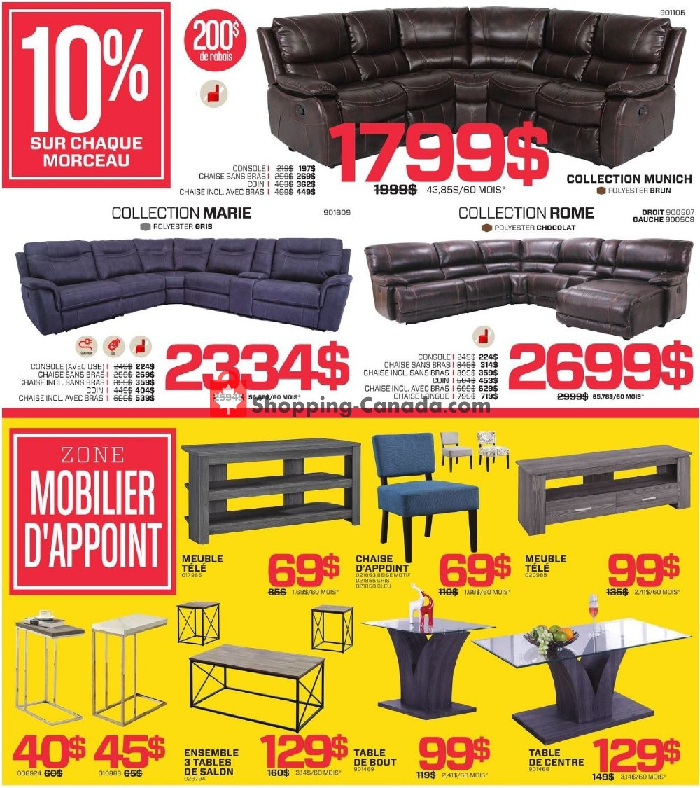 Flyer Surplus RD Canada - from Monday July 8, 2019 to Sunday August 4, 2019