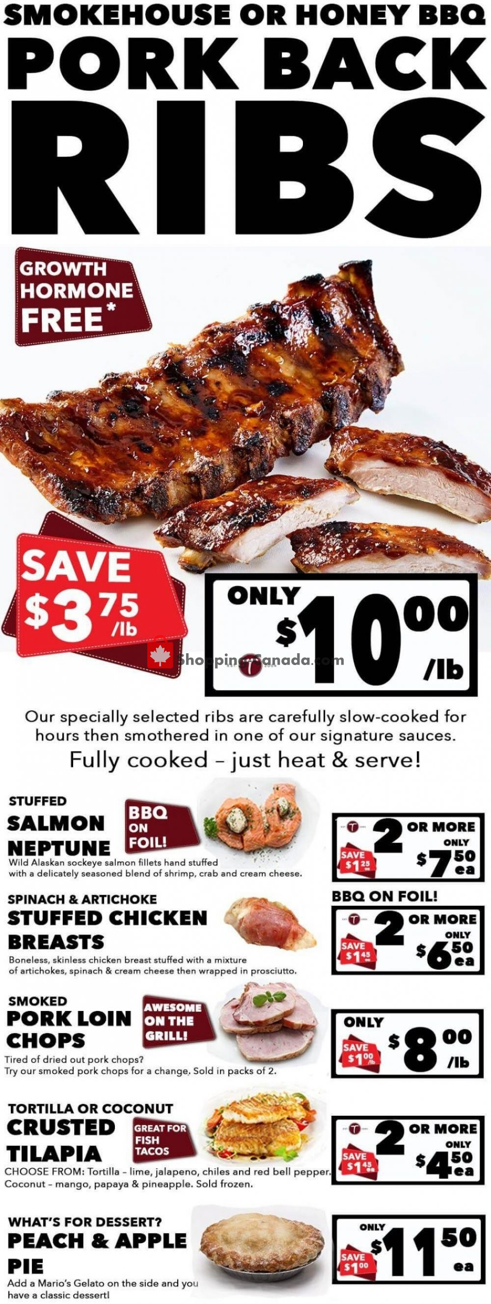 Flyer T-Bone's Canada - from Wednesday June 3, 2020 to Tuesday June 16, 2020