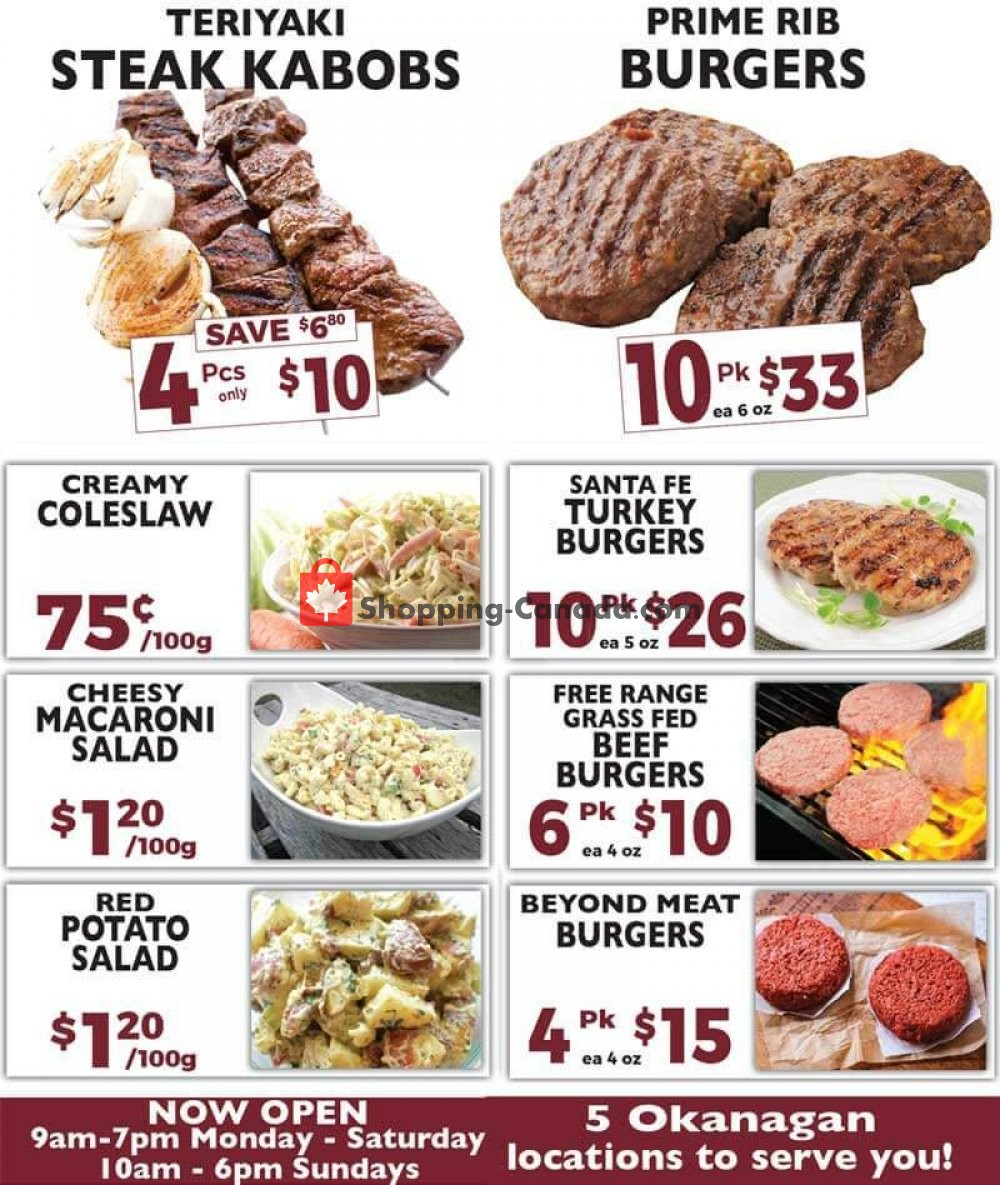 Flyer T-Bone's Canada - from Wednesday July 31, 2019 to Tuesday August 13, 2019
