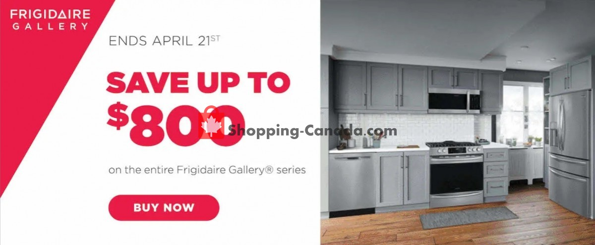 Flyer TA Appliances & Barbecues Canada - from Thursday April 1, 2021 to Wednesday April 21, 2021