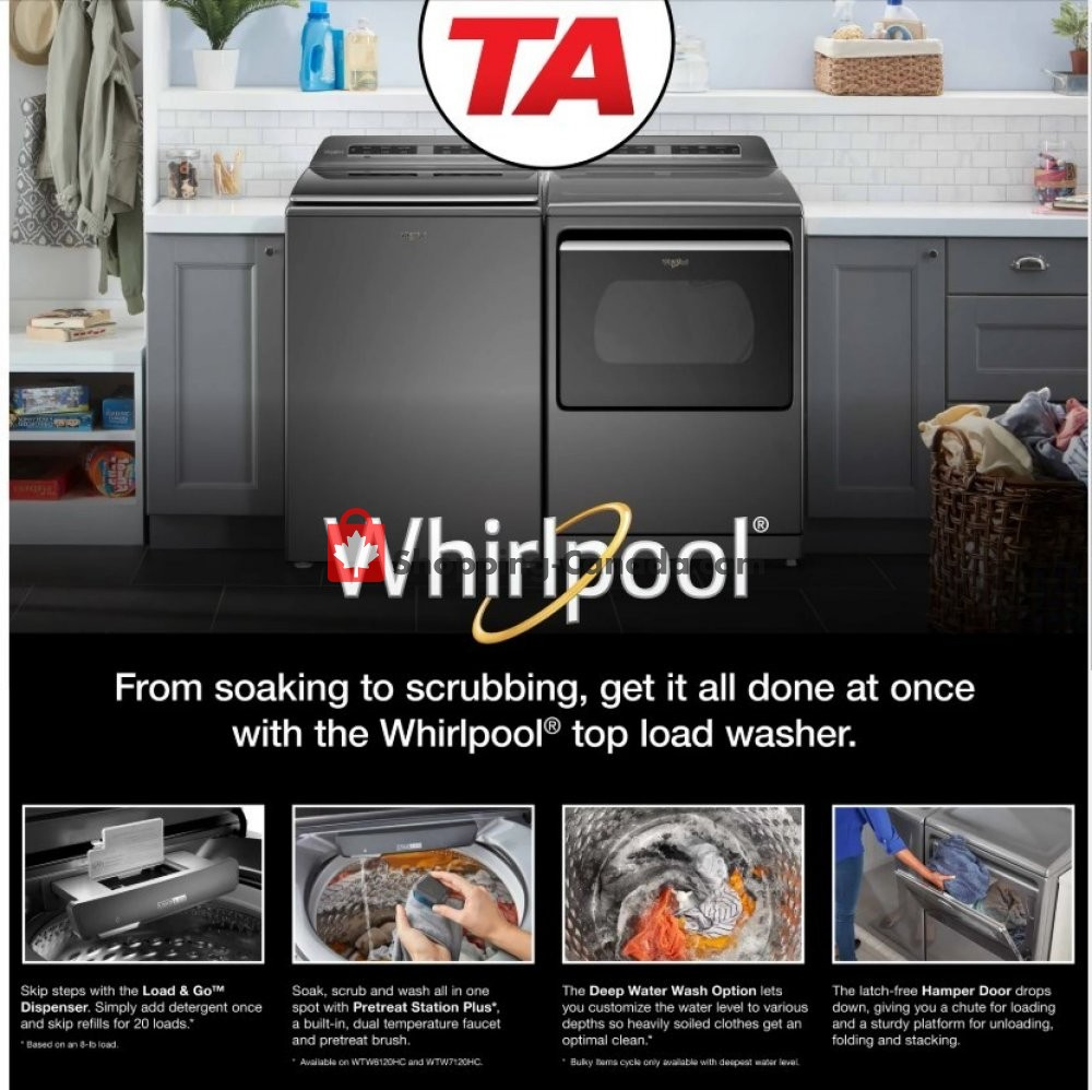 Flyer TA Appliances & Barbecues Canada - from Thursday April 2, 2020 to Wednesday April 29, 2020