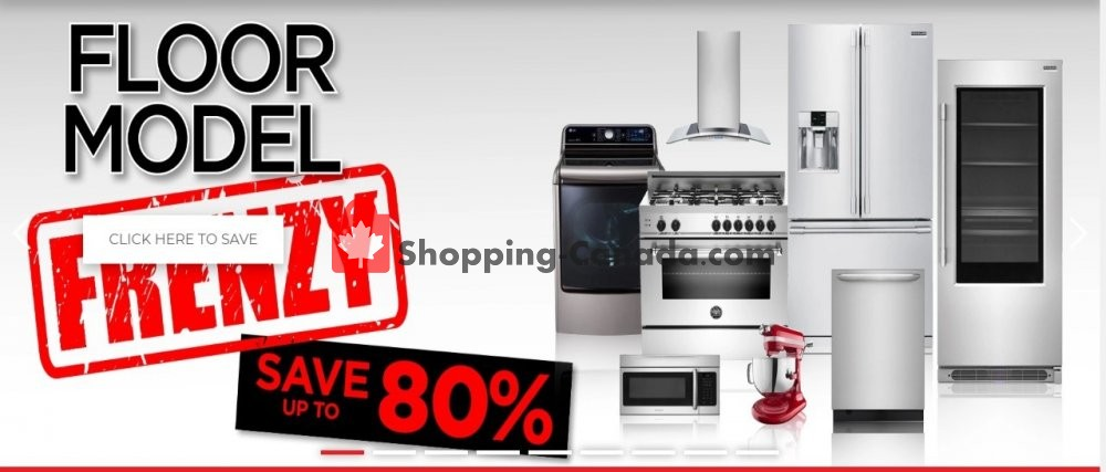 Flyer TA Appliances & Barbecues Canada - from Wednesday April 22, 2020 to Tuesday May 5, 2020