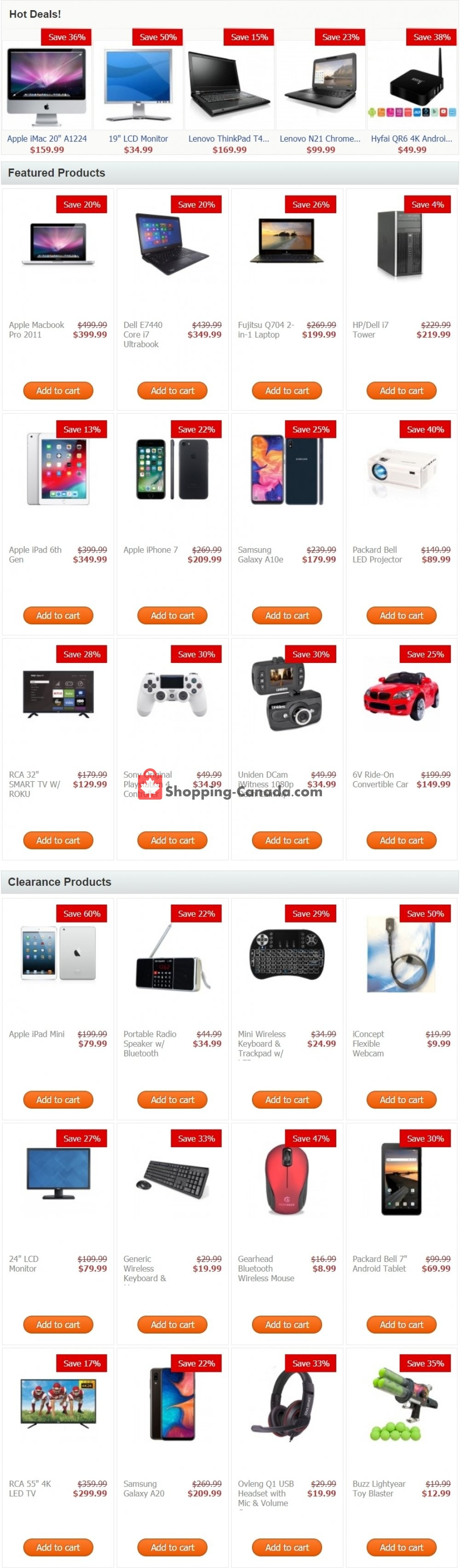 Flyer TechSource Canada Canada - from Thursday April 23, 2020 to Wednesday April 29, 2020