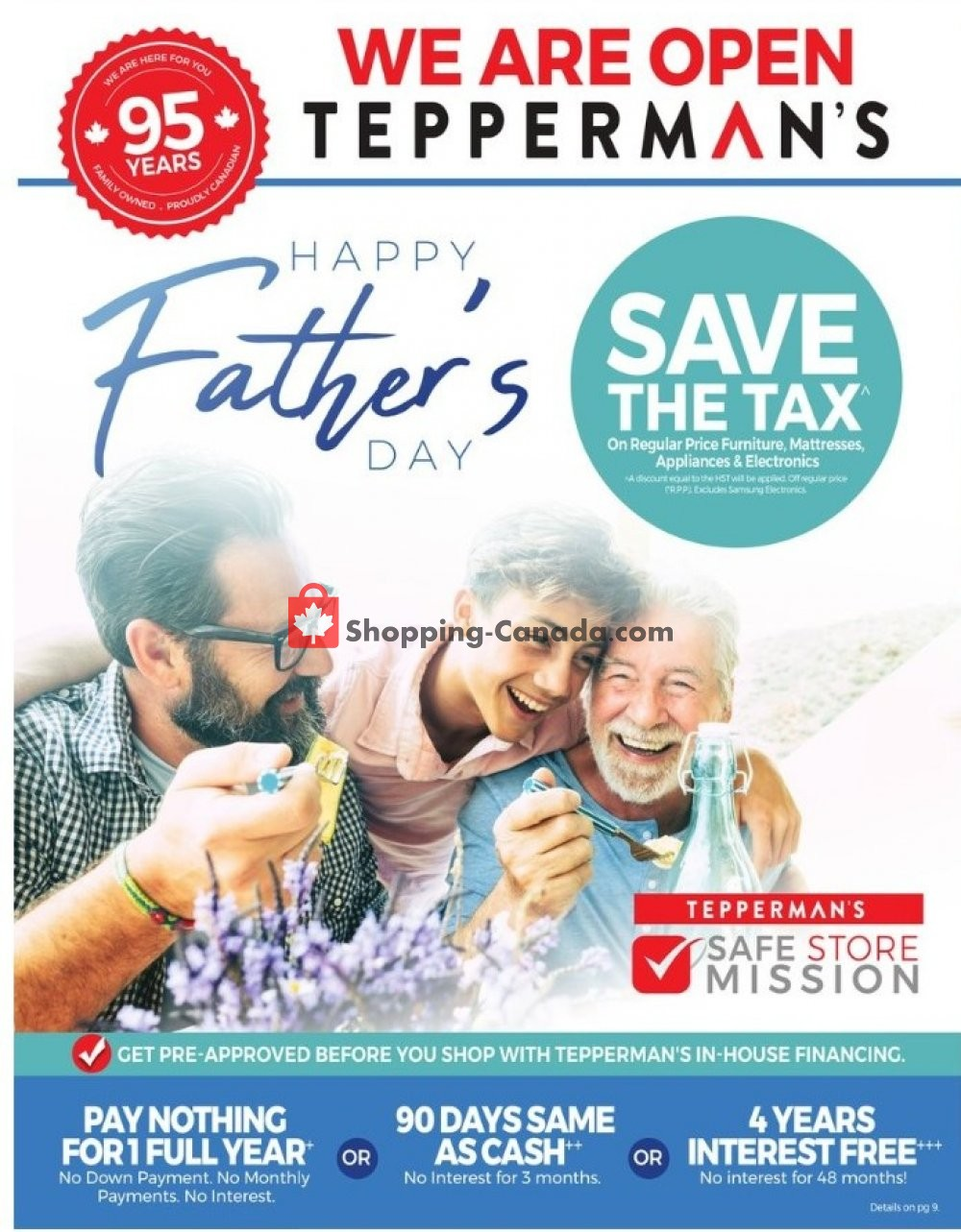 Flyer Tepperman's  Canada - from Friday May 29, 2020 to Sunday June 21, 2020