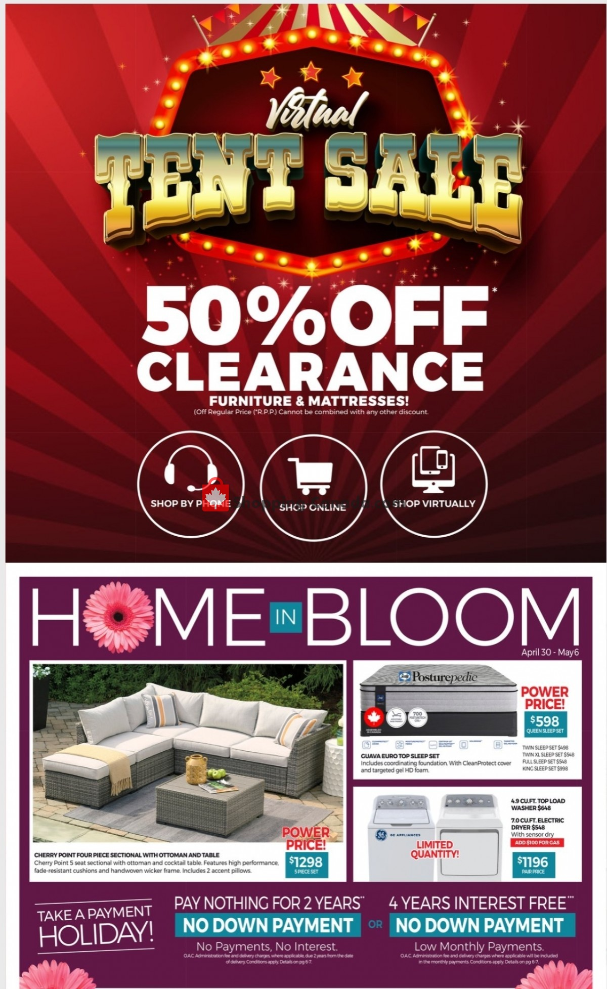 Flyer Tepperman's  Canada - from Friday April 30, 2021 to Thursday May 6, 2021