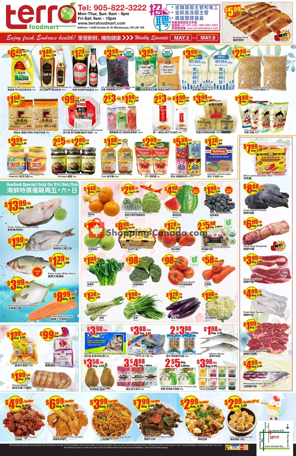 Flyer Terra Foodmart Canada - from Friday May 3, 2019 to Thursday May 9, 2019