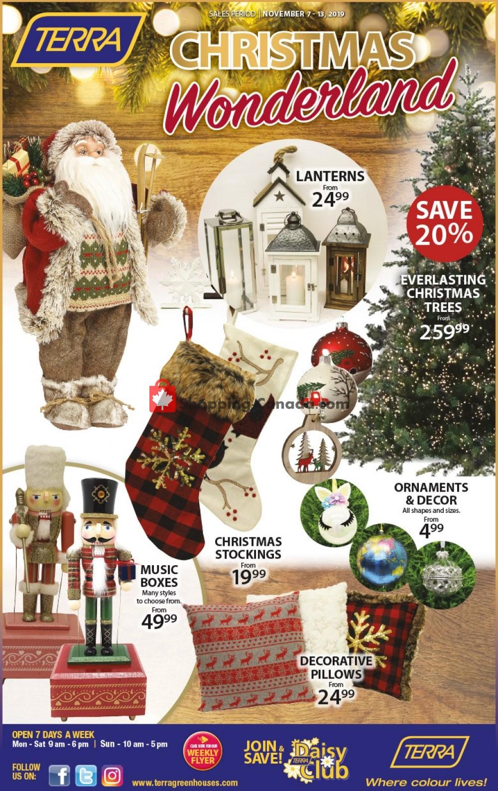 Flyer Terra Green Houses Canada - from Thursday November 7, 2019 to Wednesday November 13, 2019