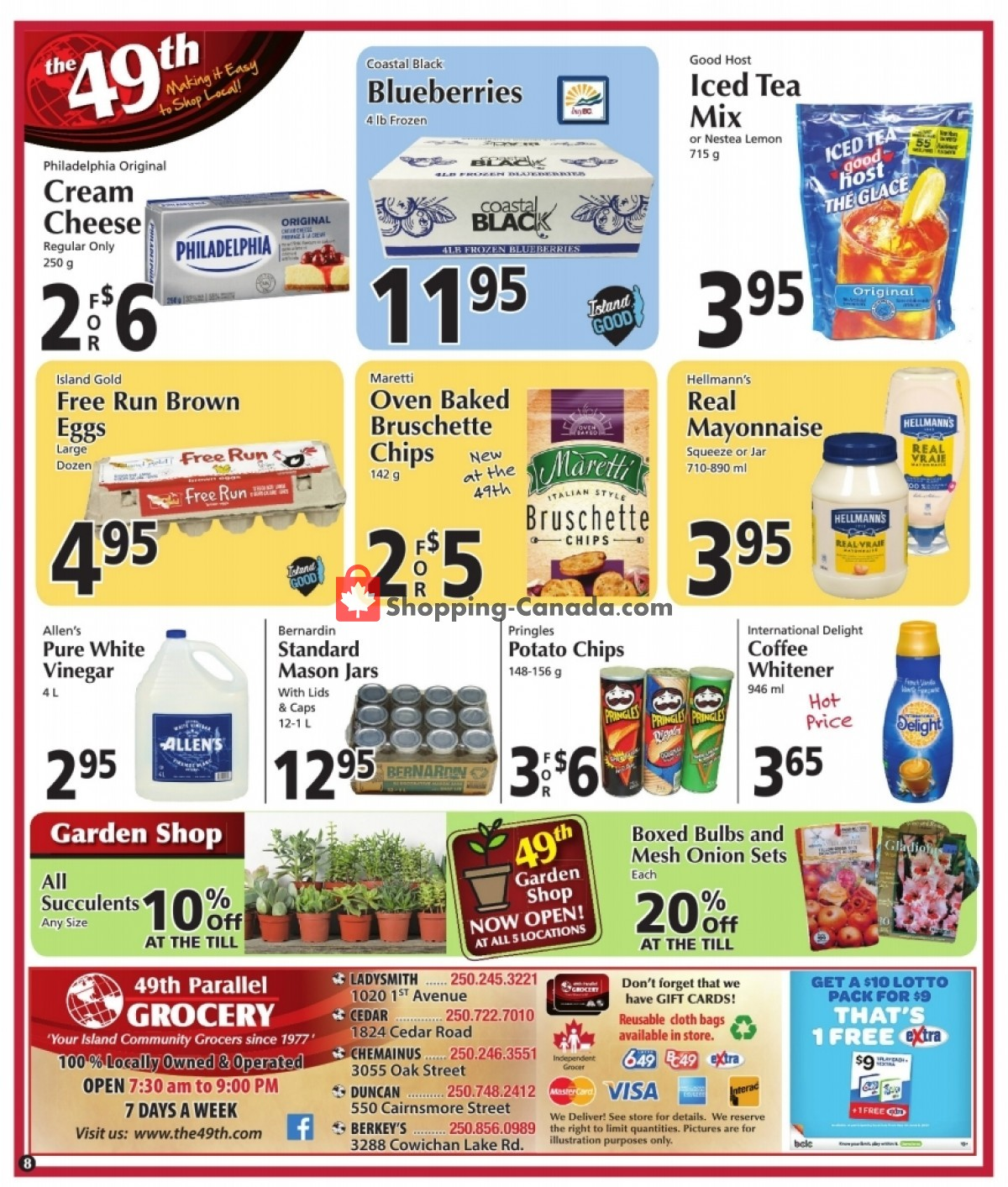 Flyer The 49th Parallel Grocery Canada - from Thursday June 10, 2021 to Wednesday June 16, 2021
