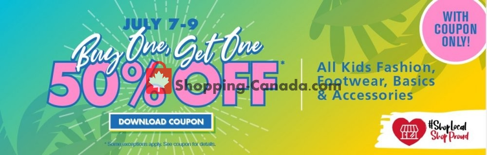 Flyer The Bargain! Shop Canada - from Tuesday July 7, 2020 to Thursday July 9, 2020