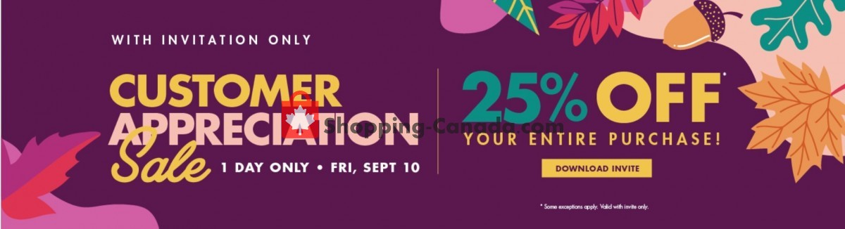 Flyer The Bargain! Shop Canada - from Friday September 10, 2021 to Friday September 10, 2021