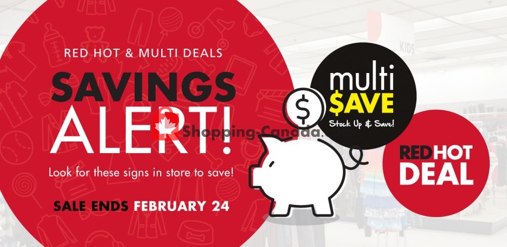 Flyer The Bargain! Shop Canada - from Monday February 3, 2020 to Monday February 24, 2020
