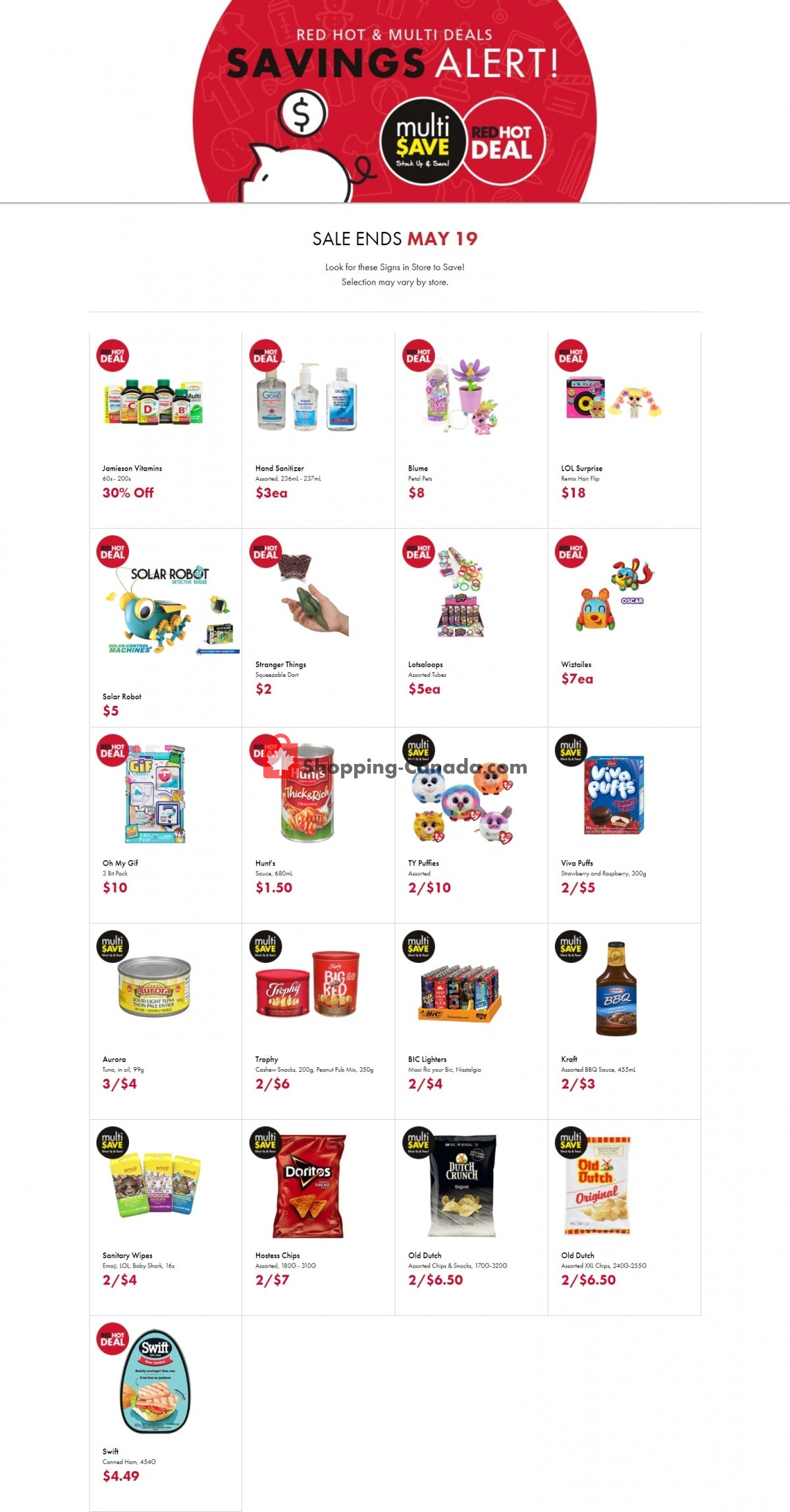 Flyer The Bargain! Shop Canada - from Friday April 30, 2021 to Wednesday May 19, 2021