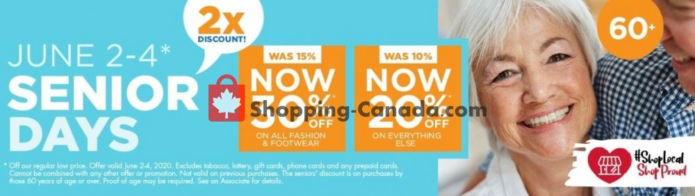 Flyer The Bargain! Shop Canada - from Sunday May 31, 2020 to Wednesday July 1, 2020