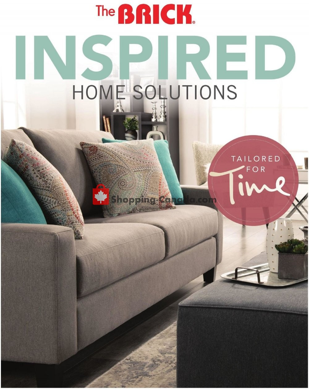 Flyer The Brick Canada - from Tuesday July 30, 2019 to Wednesday August 28, 2019