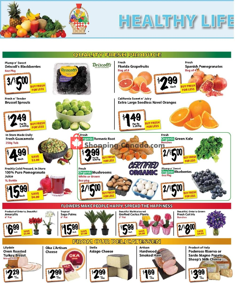 Flyer The Garden Basket Canada - from Thursday January 9, 2020 to Wednesday January 15, 2020
