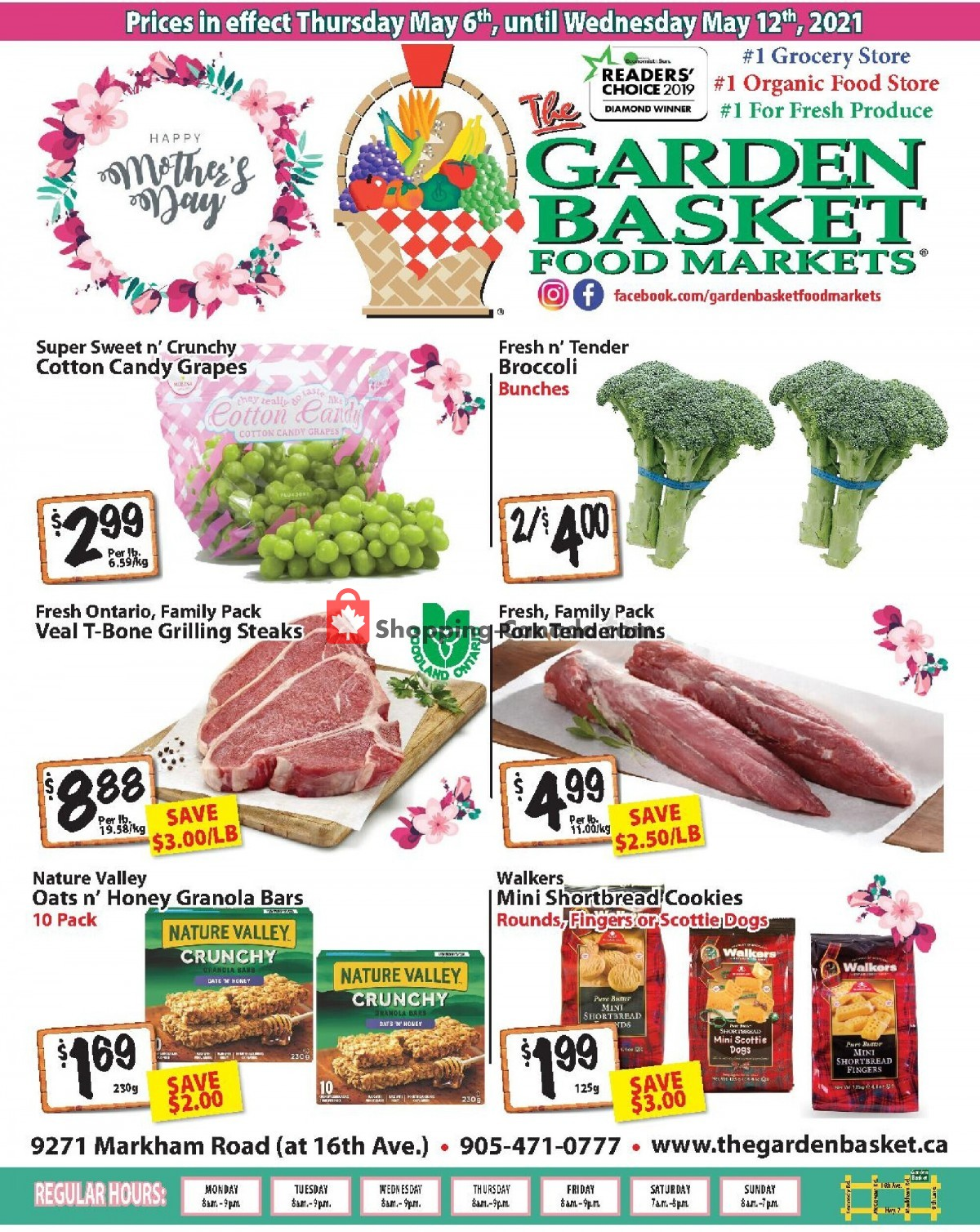Flyer The Garden Basket Canada - from Thursday May 6, 2021 to Wednesday May 12, 2021