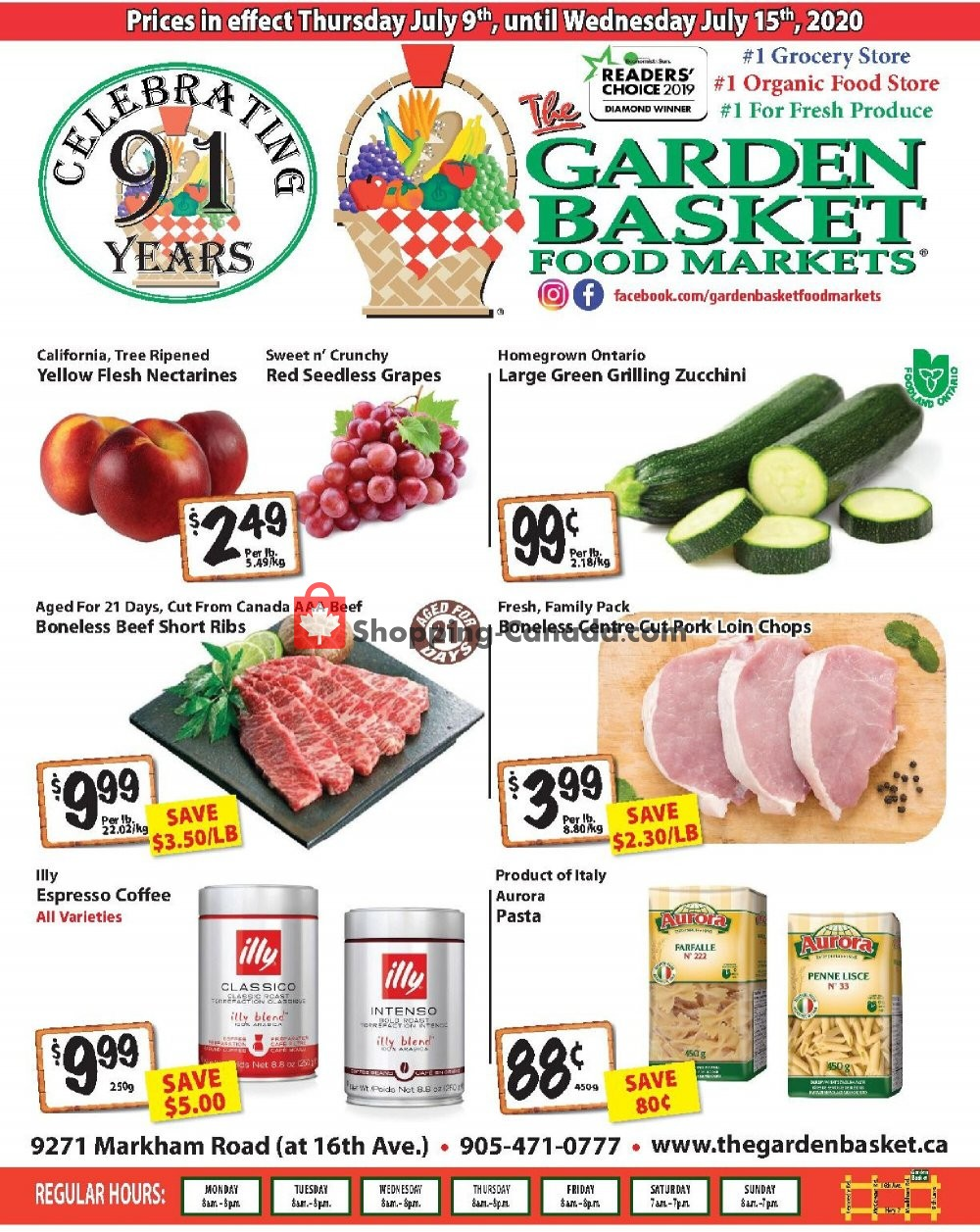 Flyer The Garden Basket Canada - from Thursday July 9, 2020 to Wednesday July 15, 2020
