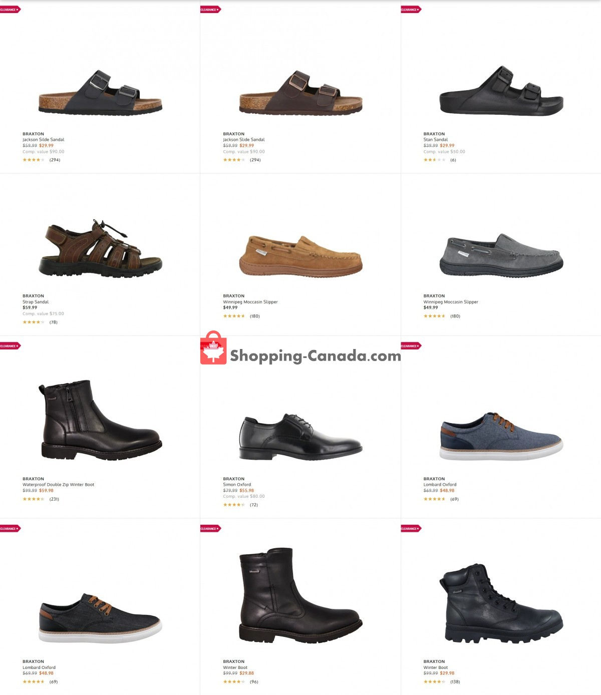Flyer The Shoe Company Canada - from Tuesday June 8, 2021 to Monday June 14, 2021