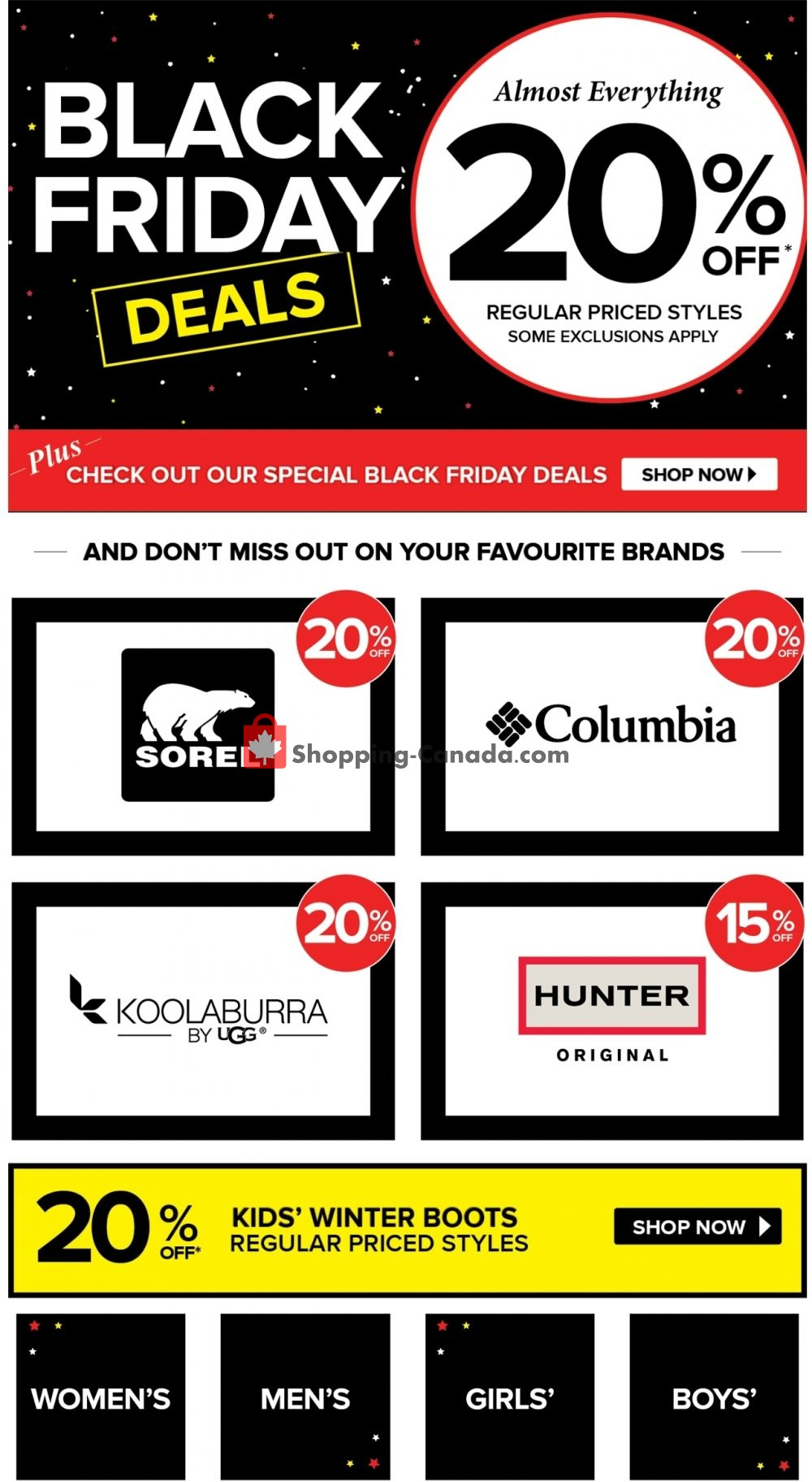 Expired The Shoe Company Coupon & Deals