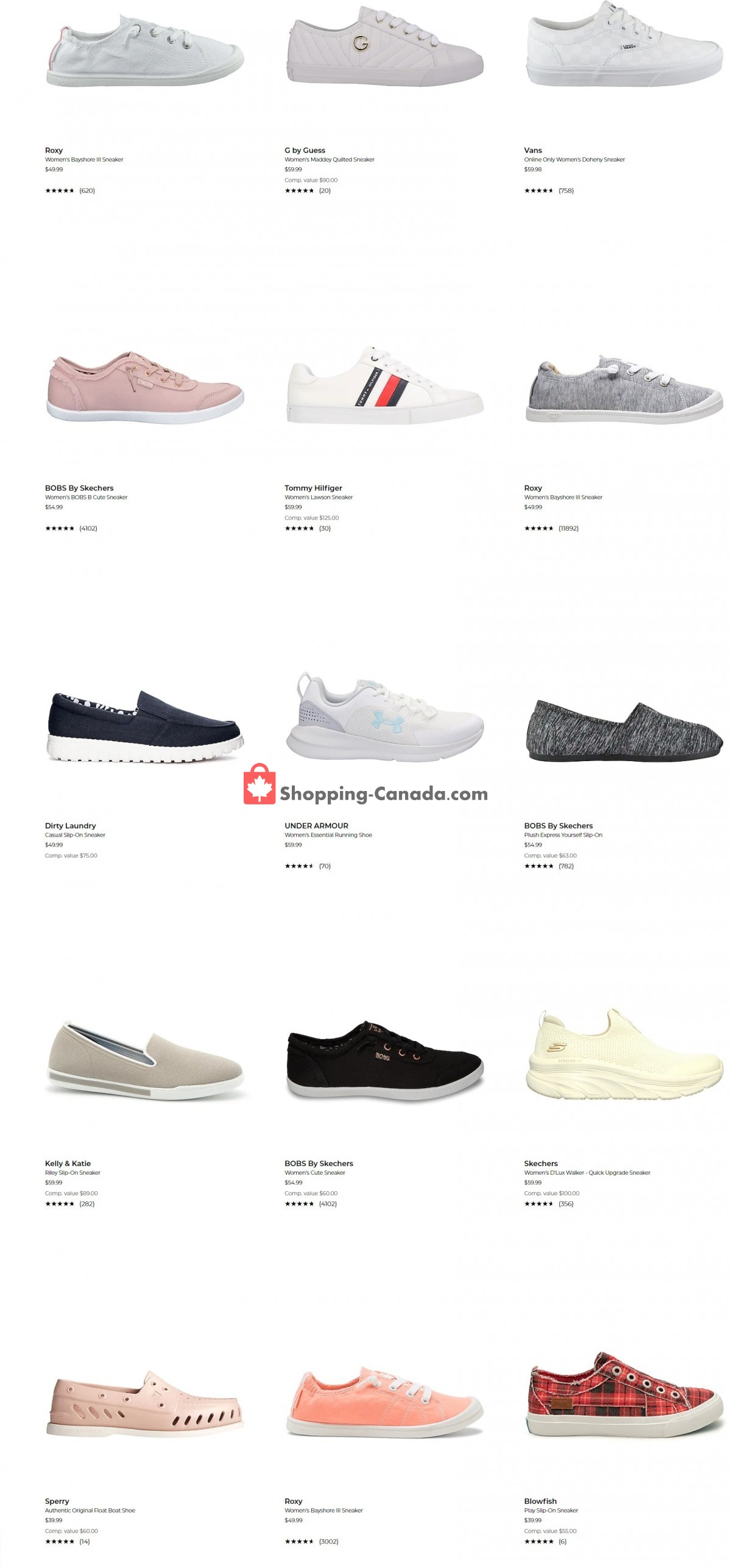 Flyer The Shoe Company Canada - from Tuesday September 7, 2021 to Monday September 13, 2021