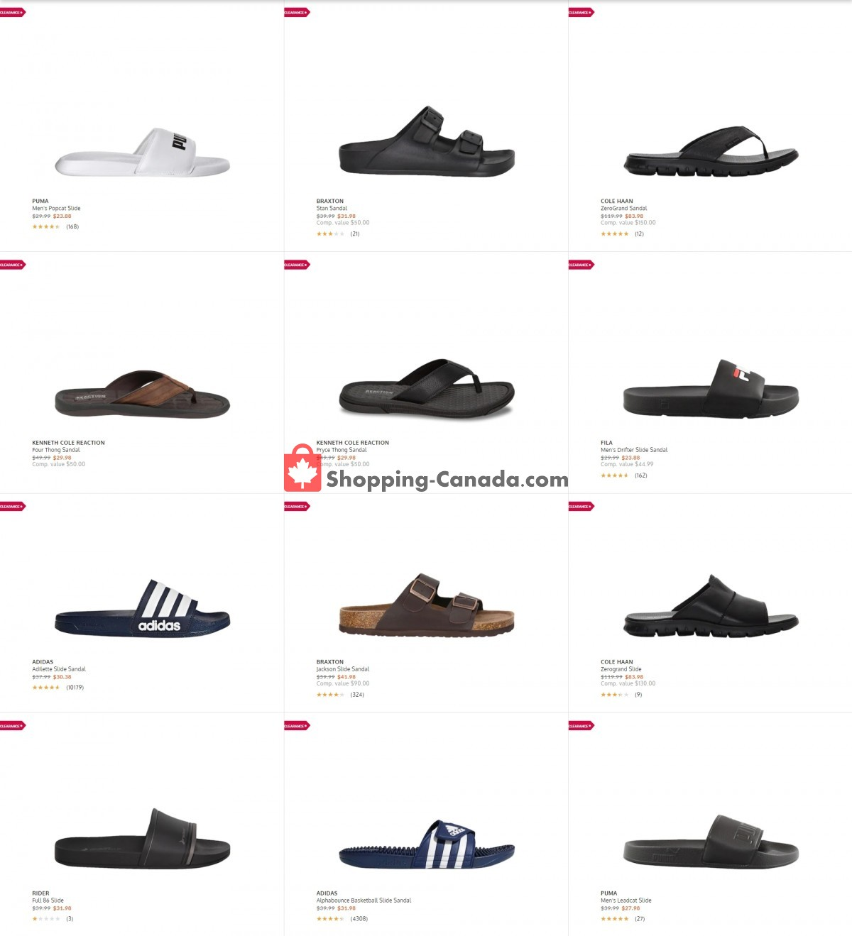 Flyer The Shoe Company Canada - from Tuesday July 13, 2021 to Monday July 19, 2021