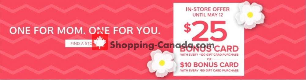 Flyer The Shoe Company Canada - from Monday May 6, 2019 to Sunday May 12, 2019